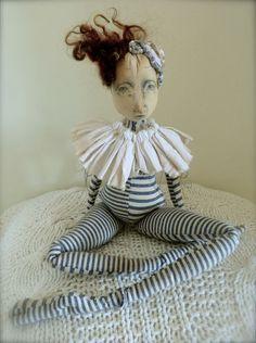 Loula Large Cloth Art Doll
