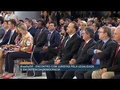 Dilma Rousseff participa do Encontro com Juristas pela Legalidade e em Defesa da Democracia - YouTube.http://blog.planalto.gov.BR - Moção de apoio à Presidenta Dilma Rousseff e a Lula, pelos juristas do Brasil