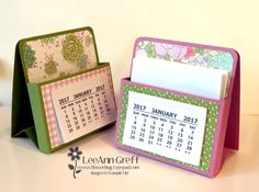 Post-it Box Video Tutorial Easel Note Calendar - This would be cute with a favorite photo instead of the calendar, too!Easel Note Calendar - This would be cute with a favorite photo instead of the calendar, too! Post It Note Holders, Easel Cards, Craft Show Ideas, Card Tutorials, Paper Gifts, Diy Paper, Paper Crafting, Folded Cards, Craft Fairs