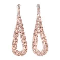 Rosegold Diamante Lg Teardrop - Glamour   YDE South African Fashion, Perfume, Rose Gold, Glamour, The Shining, Fragrance