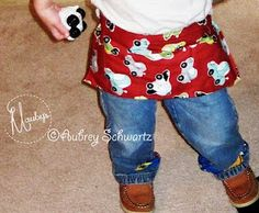 A little kid tool belt-I want to make this for my nephew for when he is older. =]