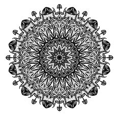 """""""How To Create a Complex Mandala Pattern in Adobe Illustrator"""" from blog.spoongraphics. This is hugely educational and fun to read. I'm going to give it a go first chance I get!"""