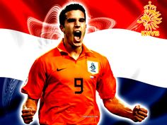 Robin van Persie is a modern legend in the Netherlands, when it comes to soccer (voetbal).