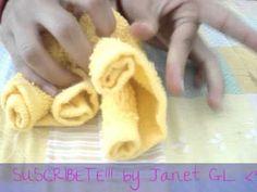 Figuras con toallas de baño - facil :)