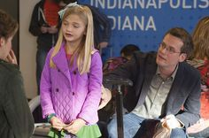 """John Green's cameo in the TFiOS movie. The scene, for those who know and love the book, is an adapted version of the moment when Hazel (Woodley) is approached by a child who asks about her nasal cannula. Her mom pulls her away and says, """"I'm so sorry."""" For the film, the scene was tweaked to take place at the airport with Green as the dad uttering the three-word apology."""" But John Green decided not to have a cameo. So sad."""