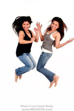 Title: Jump - No. 009 - Photo: Lon Casler Bixby - Web: www.neoichi.com - Models: Nonie & Razza