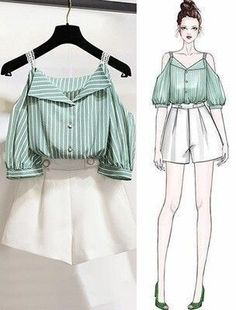 Girls Fashion Clothes, Teen Fashion Outfits, Mode Outfits, Cute Fashion, Look Fashion, Korean Fashion, Fashion Hacks, Fashion Ideas, Fashion Inspiration