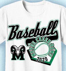 Baseball Shirt Designs - Custom Baseball T-Shirt Designs: Click 52 NEW Team Designs. Order Now - School Mascot - 2020 Baseball Shirt Designs, Baseball Shirts, Team T Shirts, School, Mens Tops, Women, Fashion, Moda, Fashion Styles