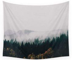 fog wall tapestry decoration - dorm room tapestry