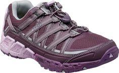 Keen Women's Versatrail Hiking Lace Up Shoes Pastel Lilac/Plum 1015295