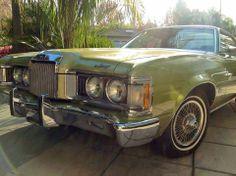 1973 Green-Gold Mercury Cougar