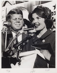 [John F. Kennedy and Jacqueline Kennedy]