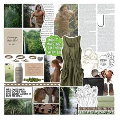 """""""Can you feel the things I feel, right now, with you? /// Legend of Tarzan /// Tarzan and Jane"""" by fangirl-forever-1 ❤ liked on Polyvore featuring Sharpie, H&M, Timberland, Casetify, Living Proof and Chanel"""