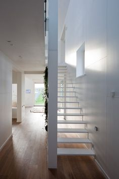 modern architecture - active lab - polygon house - moscow - russia - interior view - staircase