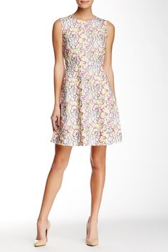 Rainbow Flower Embroidered Dress by Vivienne Tam on @HauteLook