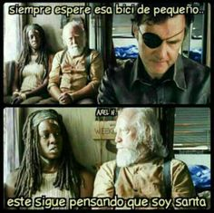 Si the walking dead fuera un meme #humor Humor #amreading #books #wattpad