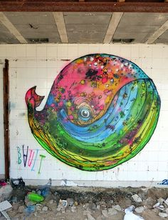 by Bault (detail) - Sete, France - Aug 2014