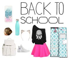 """""""BACK TO SCHOOL"""" by oliviapink2021 ❤ liked on Polyvore featuring interior, interiors, interior design, home, home decor, interior decorating, Universal Lighting and Decor, TemaHome, UNIF and Converse"""