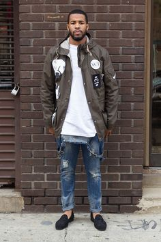 Men's Street Style - Parka Details