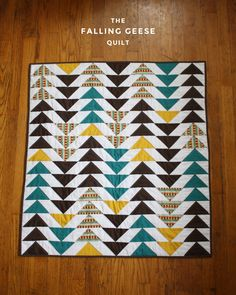 I made another quilt!   I had this fun (maybe a bit crazy) idea after I finished my last quilt  that we should have a couch quilt for ever...