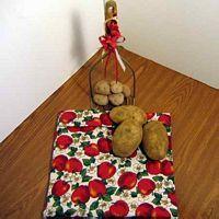 Apple Blossoms Tater Baker Bag for Microwave