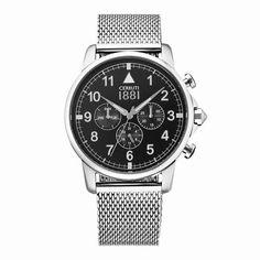 REBAJAS EN CERRUTI Seguimos de rebajas en www.todo-relojes.com, hoy te proponemos un reloj CERRUTI de caballero y en acero con un descuento del 20%: http://www.todo-relojes.com/detalle.asp?codigo=20220 #rebajas #Cerruti #relojcaballero
