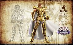 Saint Seiya - Aiolia by SONICX2011 on DeviantArt