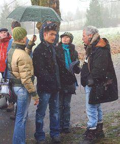 Jensen behind the scenes