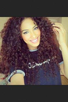 Hair crush #curly hair