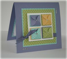 JAI 105 Colour Challenge by delysc.wordpress.com The best use of the double petal punch yet (they open!)