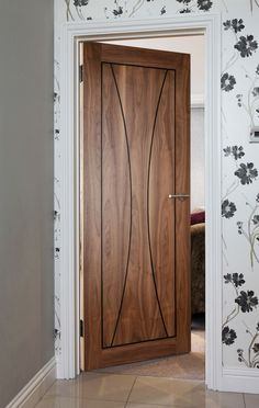 Pisa Walnut Door
