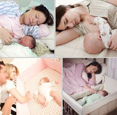 Mother-Baby Behavioral Sleep Lab at Univ. of Notre Dame suggests Co-sleeping. Here's a list of benefits and how to do it safely!