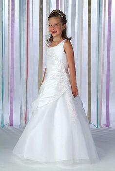 Pretty Children Pageant Wedding Bridesmaid Flower Girl Ball Dress Custom Size