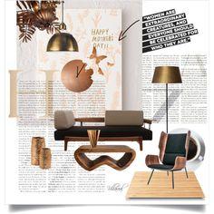 LOVE Polyvore #interior, #interiors, #interior design, home, home decor, #interior decorating, Gus* Modern, Tom Dixon, Suki Cheema and Diamantini & Domeniconi #www.sdofficedesign.com