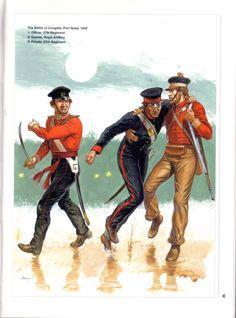 Battle of Regiment. British Army Uniform, British Uniforms, Military Art, Military History, Military Uniforms, Osprey Publishing, Crimean War, Uk History, Age Of Empires