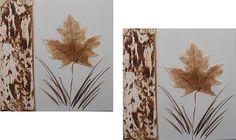folha seca artesanato - Pesquisa Google