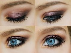 Love this look! Urban decay naked. Toasted, hustle, buck, half baked, Virgin under brow