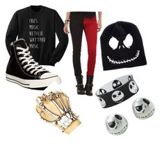 """""""Untitled #269"""" by xxsimplyepicxx on Polyvore featuring Tripp and Converse"""