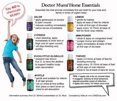 Young Living Essential Oils for kids