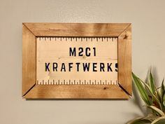 M2C1 Kraftwerks Gift - A fun gift that I made for my dad. This is based on our Etsy shop, and yes the small frame and cut-off sign is intentional. Check-out the blog for the fun story about this sign. Screwed Up, Funny Signs, Craft Items, Gifts For Family, My Dad, Homemade Gifts, Things To Think About, Best Gifts, Etsy Shop