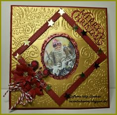 """Yvonne Creations Magical Winter und Merry Christmas, Spellbinders """"Layered Poinsettia"""""""