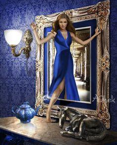 Blue evening by AliaChek