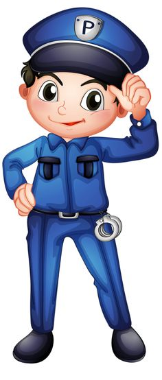 Buy A Policeman by interactimages on GraphicRiver. Illustration of a policeman with a complete uniform on a white background Cartoon Caracters, Community Helpers, Little My, Kind Mode, Storytelling, Art For Kids, Chibi, Activities For Kids, Preschool