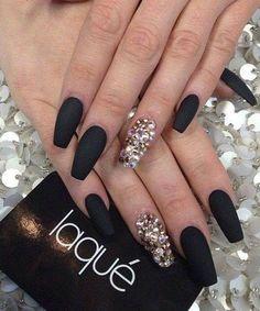 Simple Black Nail Polish