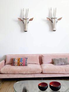 Rockin' a Pink Sofa