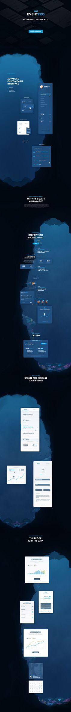 EventPro UI Kit - Free Download