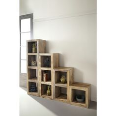 Christopher Knight Home Honey Mango Cube Bookshelf - Overstock Shopping - Great Deals on Christopher Knight Home Media/Bookshelves