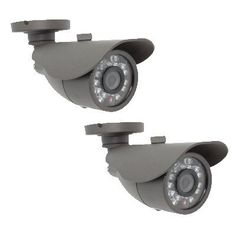 """Pack of (2) IR Waterproof CCTV Color Outdoor Security Camera Surveillance w/ Power Adapters kit - 520TVL, 3.6mm lens, 23pcs IR LED, 65.6 ft IR Distance. by Gw. $75.00. Camera Specification:: Model GW635LG Pick up Element Color 1/3"""" CCD Effective Picture Elements (H*V) NTSC: 811 x 508, PAL: 795 x 596 Horizontal Resolution 520TV Lines S/N Ratio More than 48dB Clock Frequency (MHZ) NTSC: 28.636, PAL: 28.375 Scanning System 2:1 interlace Minimum Illumination 0Lux (with IR LED ON) Syn..."""