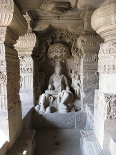 The Mysterious Ajanta Caves, India by pasq242, via Flickr