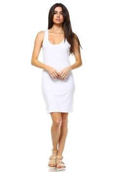 aa7d9f2158b Sleeveless Bodycon Dress Model is wearing a size Small Viscose Silk Spandex  Hand Wash Cold Imported Style